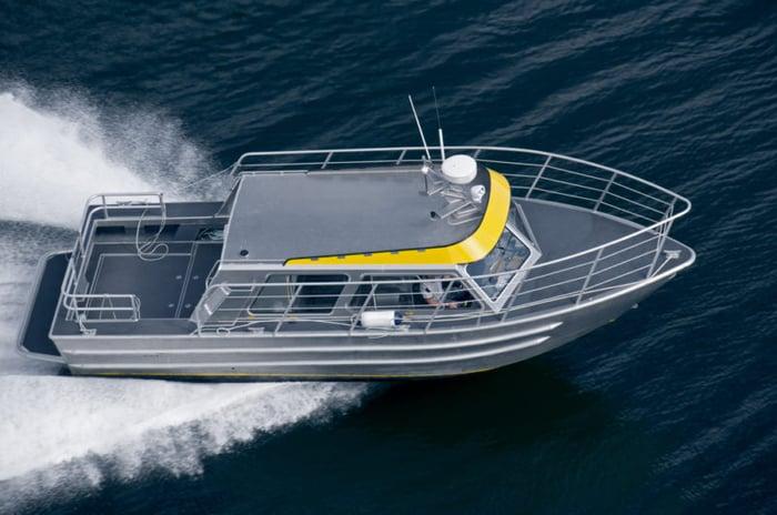 aluminium boat manufacturing
