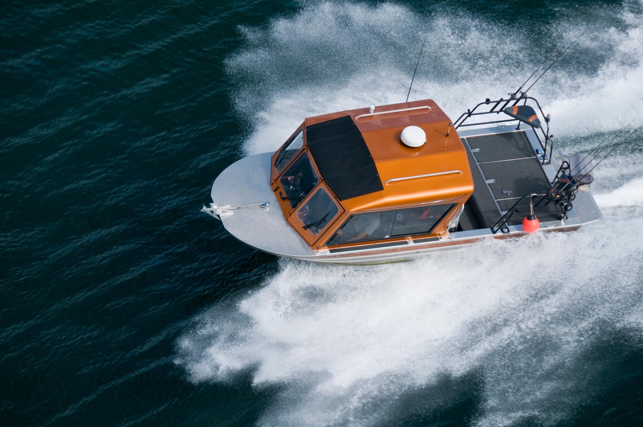 aluminum boat design